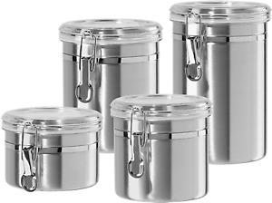 Stainless Steel Food Storage Container Set Durable Kitchen Accessories Supplies