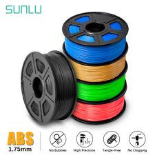 3DKAIGE ABS 3D Drucker Filament 1,75 mm 1KG/2,2LB Drahtspule Schwarz 3D-Drucker