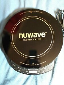NuWave precision induction cooktop gold