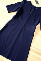 MARC O'POLO wunderschönes Etuikleid Kleid Gr. 36 neu Dunkelblau