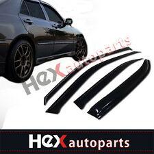 4pcs Sun Rain Guard Vent Shade Window Visors for 96-00 Honda Civic 4-Door Sedan