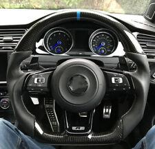 Carbon Fiber Sport Customized Steering Wheel for VW Golf MK7 GTI R line Scirocco