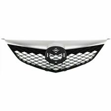 for 2003 2004 2005 Mazda 6 Front Grille With Chrome Molding Without Mazda Speed