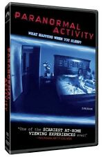 Paranormal Activity DVD Region 1