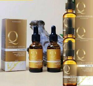 5 X 30 ml. Q Double Serum Reduce Premature Aging Acne Freckles Dark Spot NEW HIT