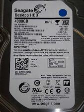 4tb Seagate st4000dm000   s30   PN: 1f2168-501   cc54   su #08