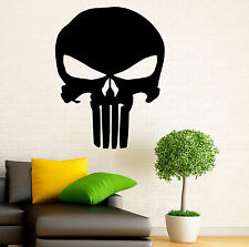 Punisher Skull Wall Decal Vinyl Sticker Marvel Comics Character Art Decor 1pn01r