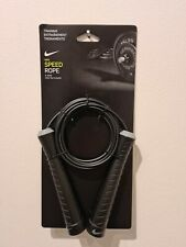 Nike Fundamental Waited Skipping Speed Rope Fitness Boxing Jump Gym Official