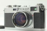 【 N MINT++】Nikon S2 Rangefinder Film Camera Nikkor sc 5cm 50mm f/1.4 Lens Japan