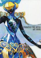 Persona 5 Persona 5 The Royal Art book Illustrations Japanese RARE