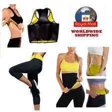 Women Body Shaper Slimming Belt Waist Pants Yoga Vest Sweat Sauna pants
