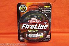 BERKLEY FireLine Tracer 30lb (300yd) Flame Green #BFL30030-TR