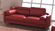 Designer Ledersofa Ledermöbel Leder-Sofa-3 Sitzer Garnitur Couch neu 351-R