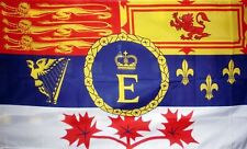 CANADIAN ROYAL STANDARD FLAG 5X3 Canada Queen ROYALTY