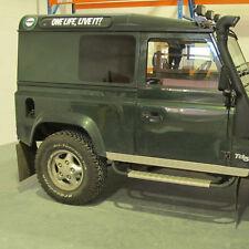 Blind Spot Side Windows   Land Rover Defender Hard Top/Panel Van 90 & 110 FIXED