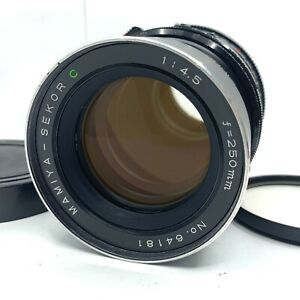 【NEAR MINT】 Mamiya Sekor C 250mm f/4.5 Lens RB67 Pro S SD from Japan 181