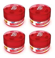 4 X 3D Jelly Belly Muy Cereza Lata Dulce Gel Ambientador FRESHNER