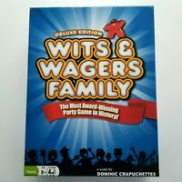 WITS & WAGERS Family Deluxe Edition Board Game North Star Games Used