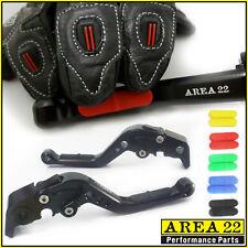 Zona 22 Moto Guzzi 1200 Sport 07-13 Antideslizante Ajustable Palancas Negro