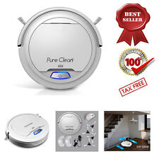 Automatic Robot Vacuum Cleaner Cleaning Floor Carpet Hardwood Wireless Sweeper