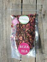 ROZA Fragrant Rose Petal Vitamin C Immune Herbal Loose Leaf Tea Blend 2 oz