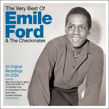 Emile Ford & The Checkmates - The Very Best Of [Greatest Hits] 2CD NEW/SEALED