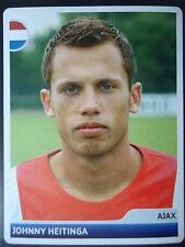 Panini 349 Johnny Heitinga Ajax Amsterdam UEFA CL 2006/07