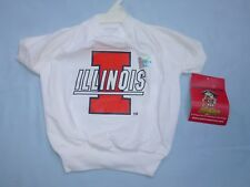 Illinois Fighting Illini DOG/Pet  T-SHIRT  size Medium  by Doggienation.com  NWT
