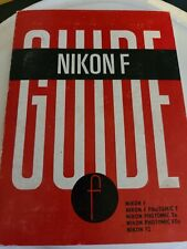 Nikon F * Original Instruction Manual / Guide Book