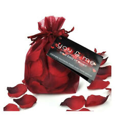 You & Me On A Bed of Roses Rose Petals Gift Romantic Love Sex Xmas Wedding Night