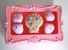PINKY SPARKLE LOLITA DECODEN PLASTIC DRESSING TABLE JEWELLERY TRINKET BOX