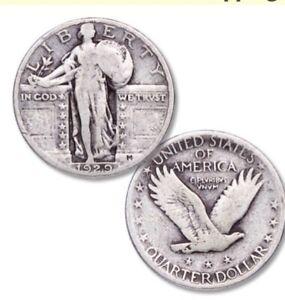 Standing Liberty Silver Quarter 1929