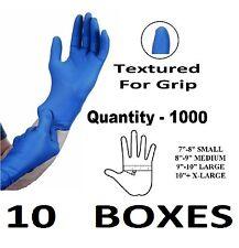 1000 x MOYEN rigide Bleu nitrile résistant Tattoo mécanique jetable Gants M