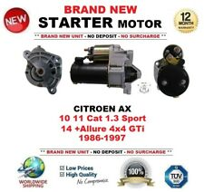 Per CITROEN AX 10 11 CAT 1.3 SPORT 14 + Allure 4x4 GTI 1986-1997 Motore di Avviamento 9 T