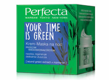 DAX PERFECTA YOUR TIME IS GREEN FACE CREAM MASK FOR NIGHT ANTI IMPERFECTIONS