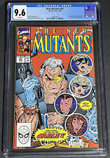 CGC 9.6 NEW MUTANTS #87 MARVEL 3/1990 1ST CABLE STRYFE MUTANT LIBERATION FRONT C