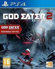 God Eater 2: Rage Burst (PS4 RPG Game) Defy all Gods