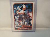 1989 Topps CAL RIPKEN Jr Baltimore Orioles Baseball Card #250