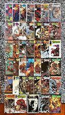 SPAWN 40 comic book LOT ! Science Fiction Dark Horse Punk IMAGE comics The MAXX