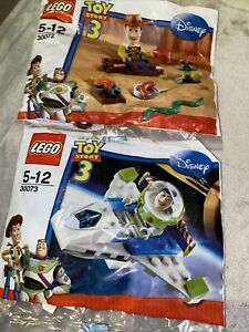 LEGO Disney Toy Story Sets BUZZ & WOODY 30072 30073 New in Sealed Polybags