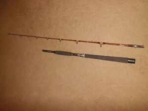 Vintage SABRE Nypoxy Glass 5020C Conventional 7' Rod made in USA- 20-50 lb test