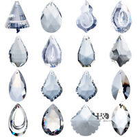 Clear Crystal Chandelier Lamp Lighting Drop Prisms Parts Suncatcher Hang Pendant