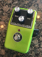 Tru-Fi Colordriver Overdriver Power Boost Guitar Pedal in Anti-Freeze Green GIFT
