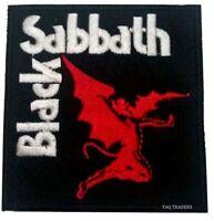 PUNK ROCK HEAVY METAL MUSIC SEW ON / IRON ON PATCH  BLACK SABBATH DEMON