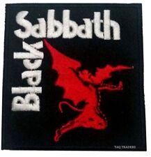 Punk Rock Heavy Metal Música de Coser / Parche con Plancha Black Sabbath Demon