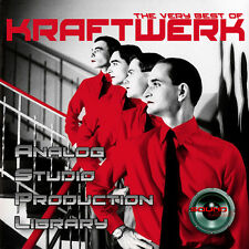 KRAFTWERK HUGE UNIQUE Original Analog Multi-Layer Studio Samples Library on 2DVD