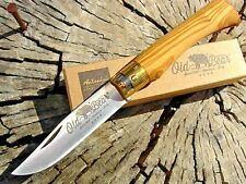 Antonini knives Italy Old Bear 719 medium ring lock knife Olive Boker as Opinel
