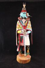 Vintage 1990s Hopi Aholi Kachina Signed by Earl Arthur