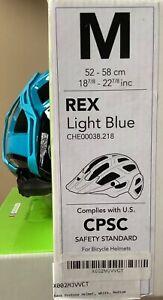 NIB KASK M REX Protone Light Blue Bicycle HELMET