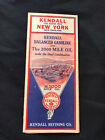 1932+Kendall+Motor+Oil+Advertising+Road+Map+-+New+York+%26+New+England